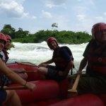 ウガンダナイル川ラフティング (6)