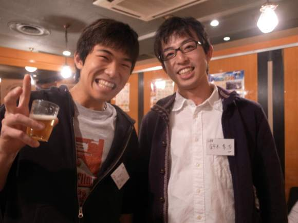 杉本怜~クライミング世界チャンピオンと早稲田大学自然人倶楽部OB会で出会う