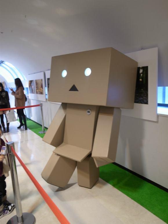 名古屋パルコで等身大着ぐるみダンボーを撮影[よつばとダンボー展2013] (13)