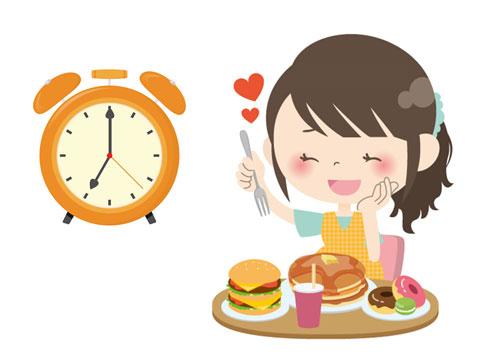 夕食の時間