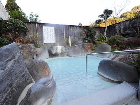 霧島ホテル露天風呂