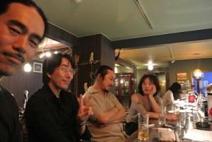 ぼく、南山さん、瀬尾君、Satoko