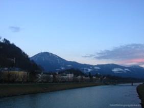 Salzach în Salzburg