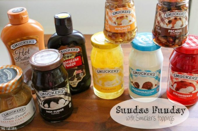 Sundae Funday with Smucker's Toppings | Take Two Tapas
