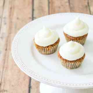Mini Carrot Cake Cupcakes with a Surprise | Take Two Tapas