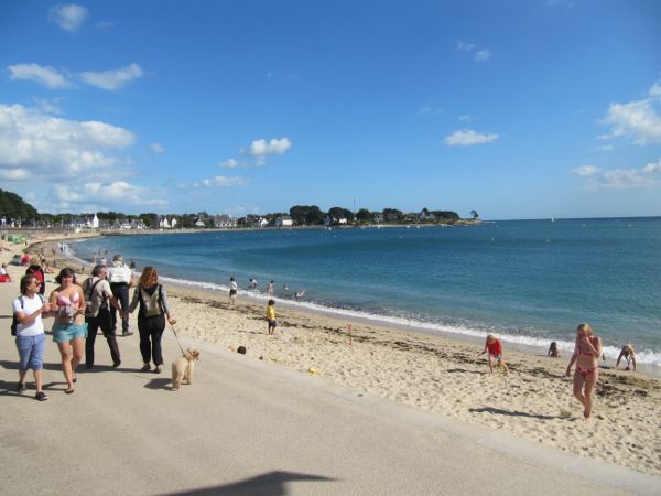 Beach at Benodet, Brittany, France