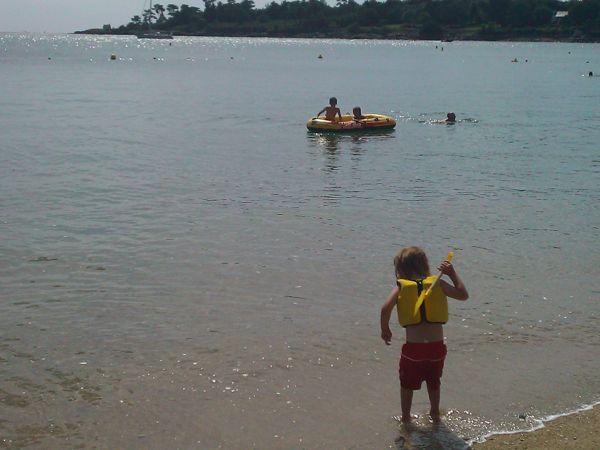 Boating at Benodet Beach