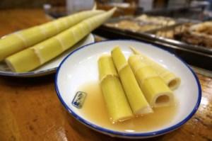「四方竹」の竹の子の関東煮(かんとだき/おでん)です