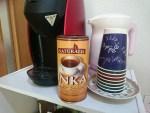 ミーティングスペースにノンカフェイン!穀物コーヒー「INKA」が加わりました!!