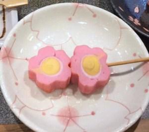 小桜(練り物)の関東煮(かんとだき/おでん)
