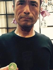 も組の組長=新梅田食道街 たこ梅 分店の和歌山県人 森口さん