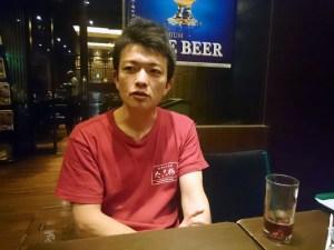 たこ梅 北店の北川さんとコーチングです