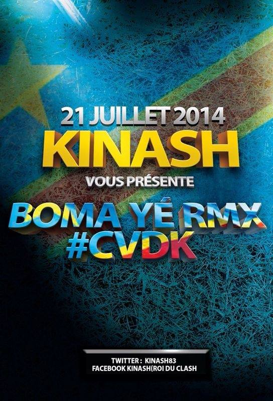 Boma Yé Remix - Kinash