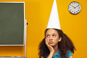 Inspiring story of girl once in dunce cap