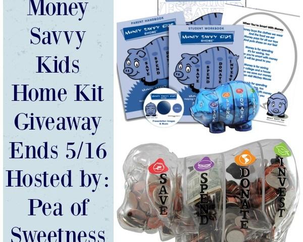 Money Savvy Kids Giveaway 5/16