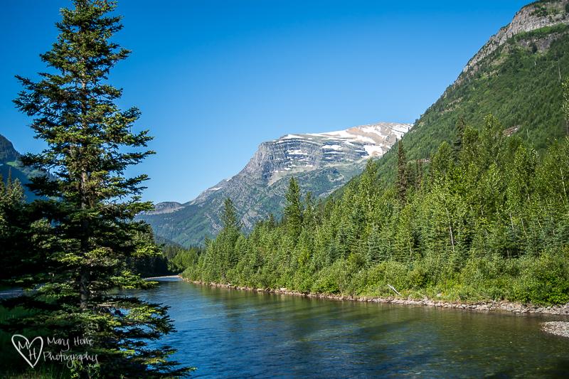 McDonald Creek Glacier NP