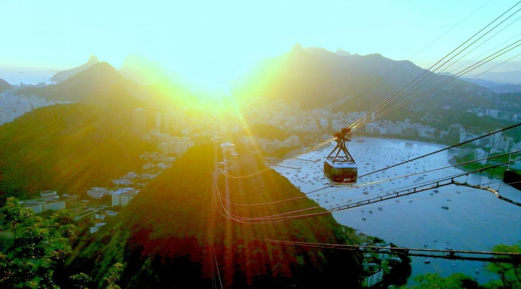 Places to Go in Brazil - Sugarloaf Sunset Rio