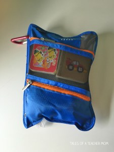 Airplane activity bag