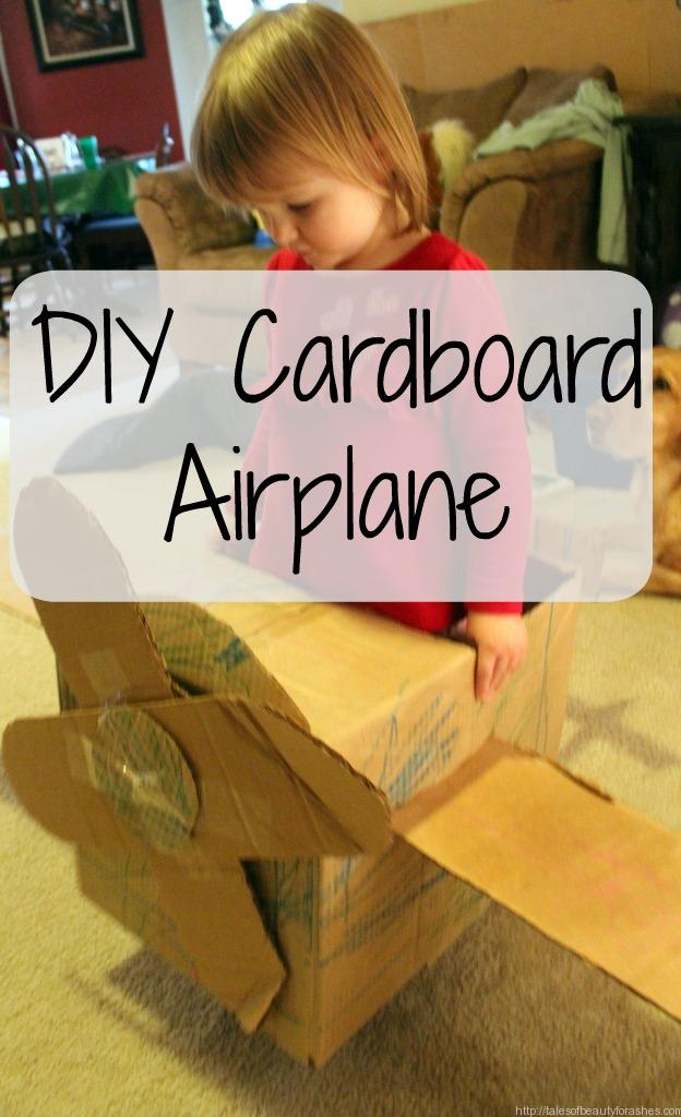 Make your own Cardboard airplane in less than an hour!