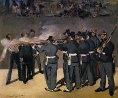 Édouard_Manet_-_L'exécution_de_Maximilien_(Copenhagen)