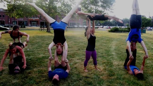 gropu yoga