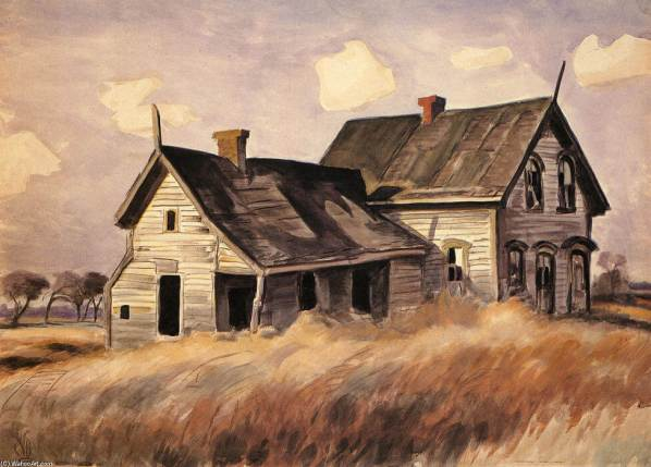 charles-burchfield-abandoned-farmhouse