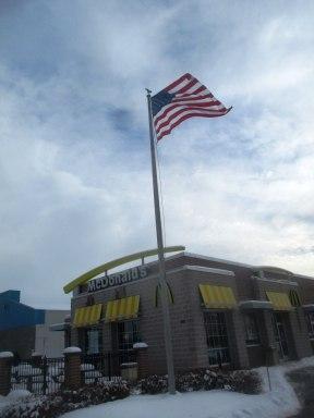McDonalds flag