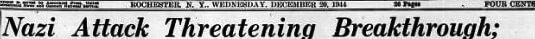 Democrat and Chronicle, Dec 20, 1944