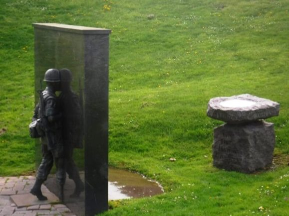 [Photo: George Payne] From The Vietnam Veterans Memorial of Greater Rochester: A Meditation on the Cost of War