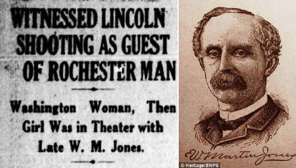 (left) Rochester Democrat and Chronicle, 12 Feb 1925 (right) William Martin Jones