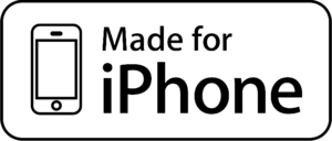 "English: The ""Made for iPhone"" emble..."
