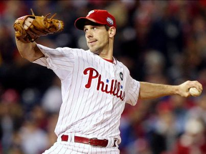 Lefty Cliff Lee of the Phillies