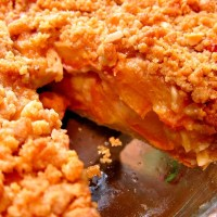 Worthy Recipe: Apple Berry Crumble Pie