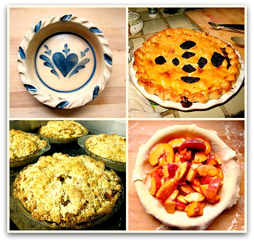 Pie Collage blog for favorite pie recipes