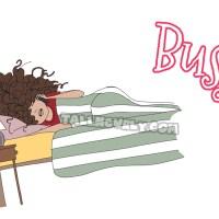 Curly Kinky Hair Business : Busy