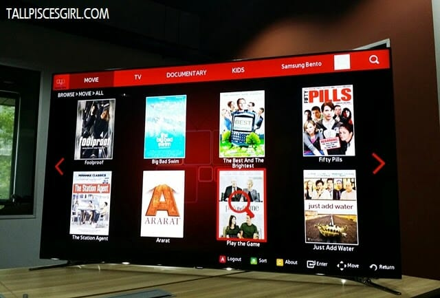 Bento Live app is only available on Samsung Smart TV!