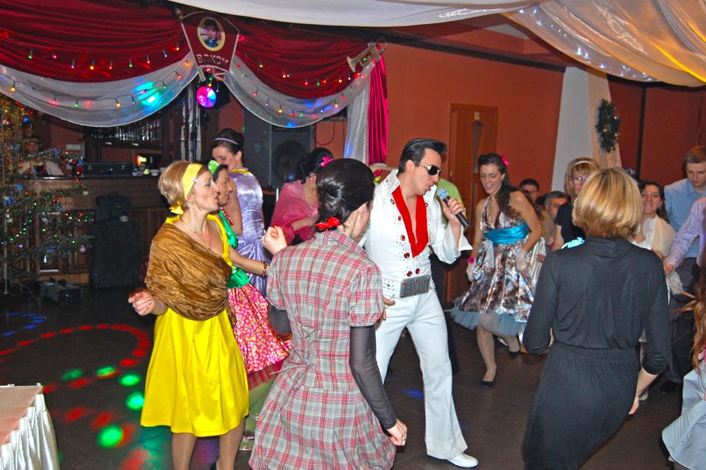 Стиляжна вечірка для працівників компанії Террін в ресторані СВ 25 грудня 2010 року
