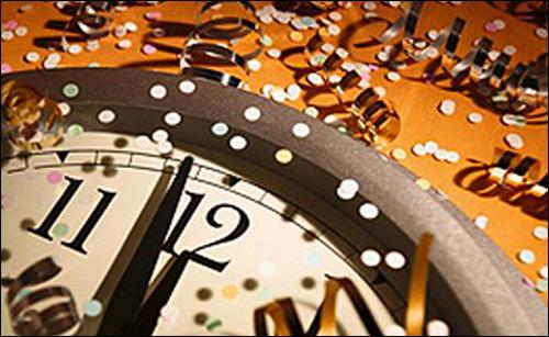 Новорічний годинник добігає до дванадцятої години
