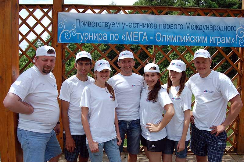 Мега Олімпійські Ігри - open-air в Шацьку для гостей з Білорусії