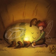 May and the firefly_bumble hug colored2