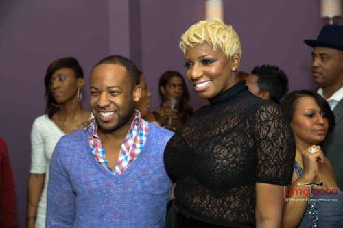 Former RHOA producer, Carlos King joins Nene Leakes at her 2012 Christmas Party