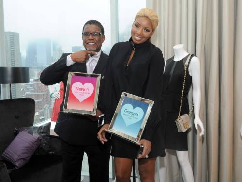 Nene and Gregg in NYC for Sears Fashion LIne
