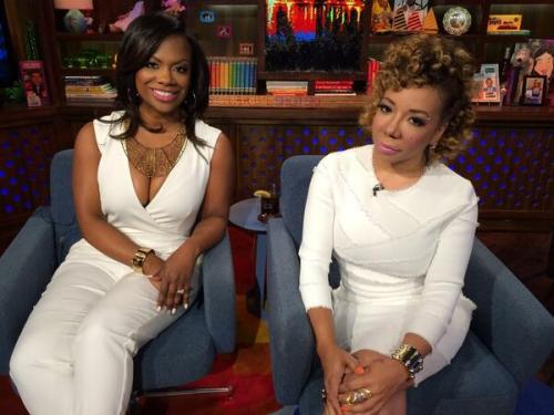 white party on WWHL with Kandi and Tiny?