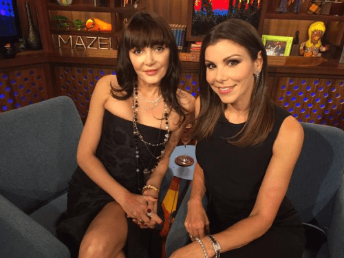 WWHL Heather and Annabelle