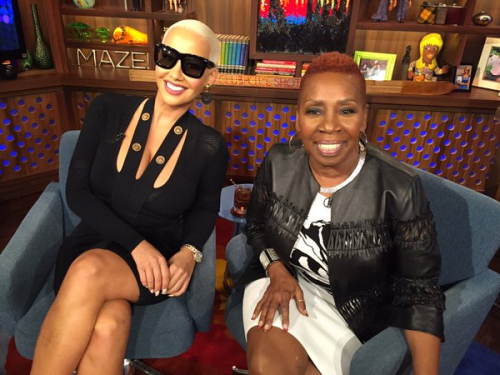 WWHL Iyanla Vanzant and Amber Rose