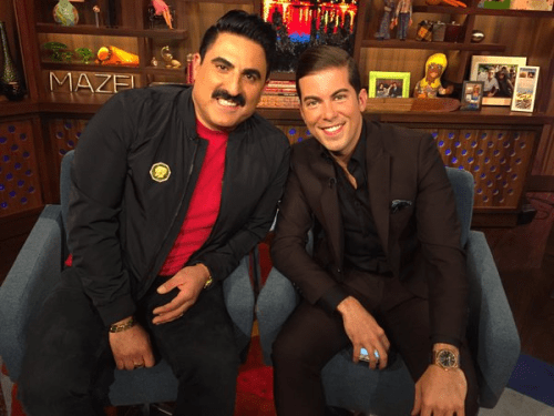 WWHL Reza and Luis