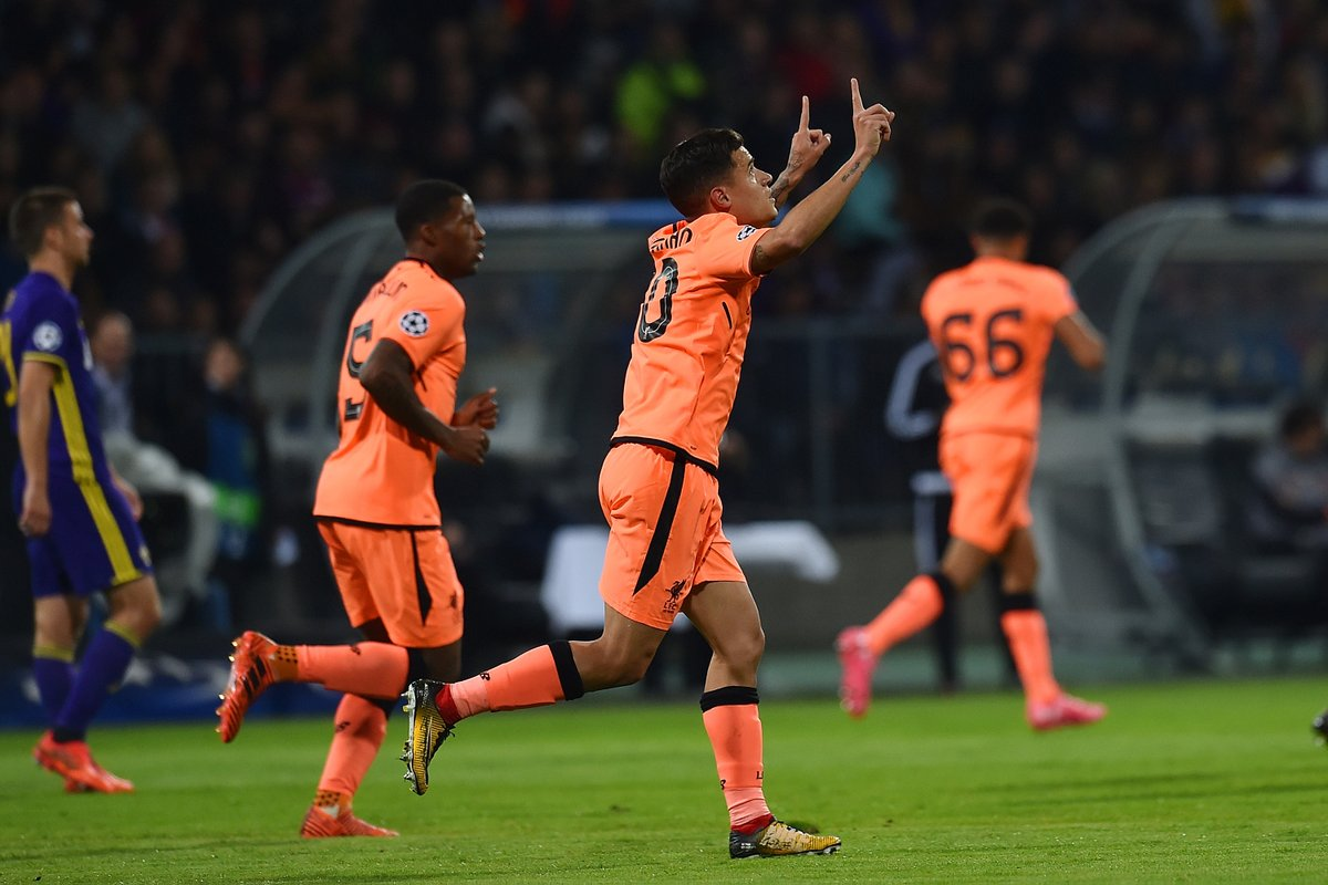 Liverpool se desató con una paliza en Eslovenia
