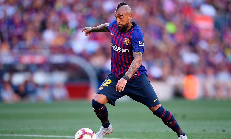 Ernesto Valverde cree que Arutro Vidal podría jugar hasta de 9