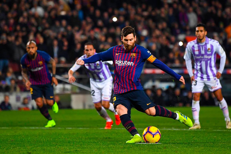 Barcelona cortó la racha de empates y derrotó a Valladolid