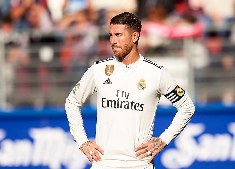 Ramos llega apercibido a la vuelta del Clásico en el Bernabéu